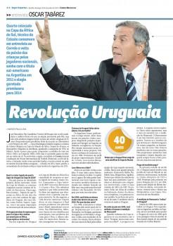 Lembranças de uma entrevista com Óscar Tabárez e o incrível tabu do técnico do Uruguai contra o Brasil
