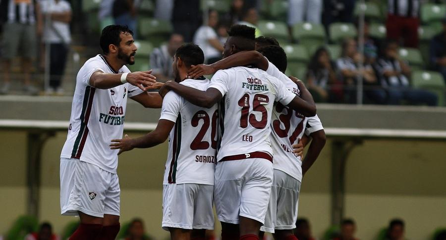 Fluminense, líder com 24 anos e 5 meses: terceiro time mais jovem desta Série A. Foto: Divulgação/Fluminense