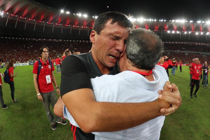 Zé Ricardo tem um título: o Campeonato Carioca deste ano. Foto: Gilvan de Souza/Flamengo