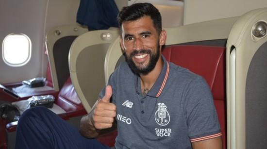 O brasiliense Vaná: passageiro de última hora no voo do Porto para o México. Foto: FC Porto