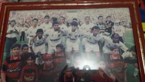 Juninho Pernambucano e Moura no time do Sport