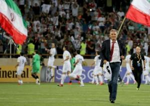 Carlos Queiroz classificou o Irã duas vezes seguidas para a Copa. Foto: Atta Kenare/AFP