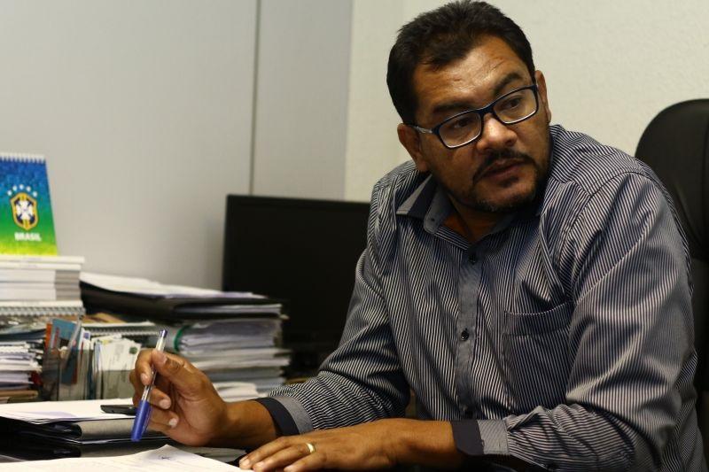Erivaldo Alves nega fraude fiscal e contábil na gestão da FFDF Foto: Luis Nova/Esp. CB/D.A Press