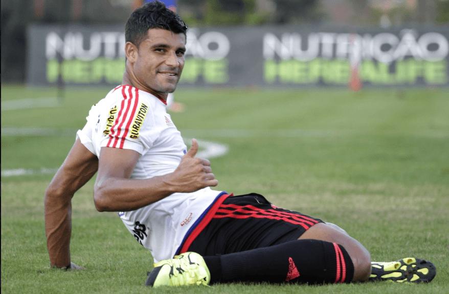Ederson: contrato renovado horas depois da apresentação de Carpegiani. Foto: Gilvan de Souza/Flamengo