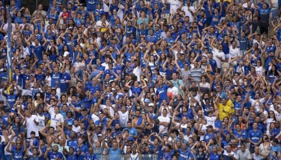 Foto  Washington Alves Light Press Cruzeiro Cruzeiro tem média de público  de liga europeia no Campeonato Mineiro 557aa73288ed0