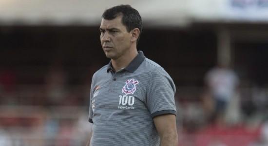 Carille confirma Timão para o jogo contra o Vitória pela Copa do Brasil