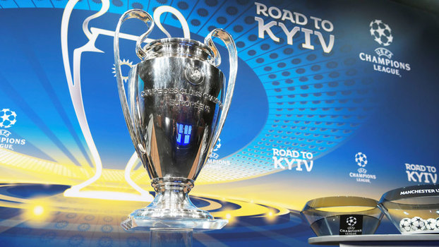 A final deste ano da Champions League será na Ucrânia. Foto: Fabrice Coffrini/AFP