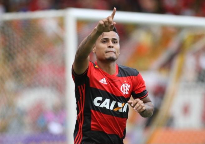 São Paulo já depositou R$ 7,5 milhões  na conta do Flamengo para ter Everton. Foto: Gilvan de Souza/Flamengo