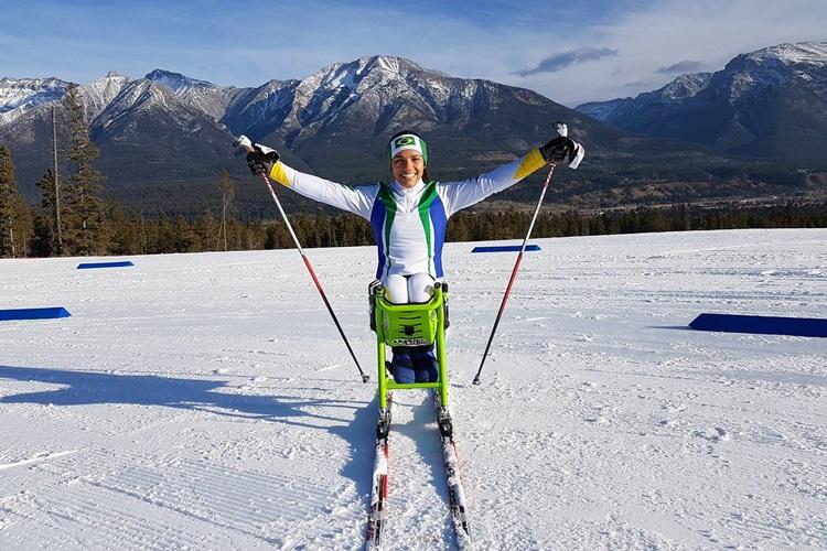 Aline Rocha Jogos Paralímpicos de Inverno Pyeongchang