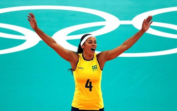 Paula Pequeno é uma das brasilienses que fizeram história no esporte brasileiro