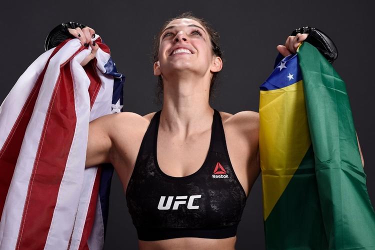 UFC-Mackenzie Dern