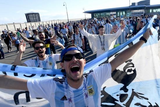 São Petersburgo-argentinos-copa