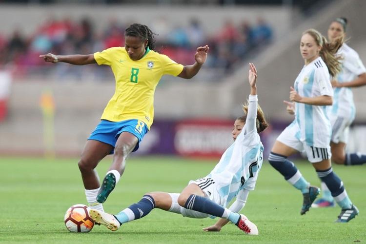 Seleção Brasileira de futebol feminino disputa a oitava Copa do Mundo, em 2019, na França. Vaga foi conquistada na Copa América 2018