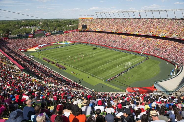 Estádios cheios na Copa do Mundo 2015, no Canadá | Foto: canadaspccer.com