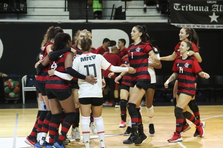 Equipe de vôlei do Flamengo está na Superliga C feminina