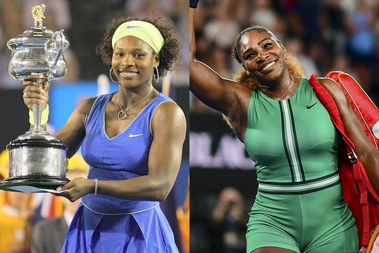 #10YearsChallenge-Serena Williams