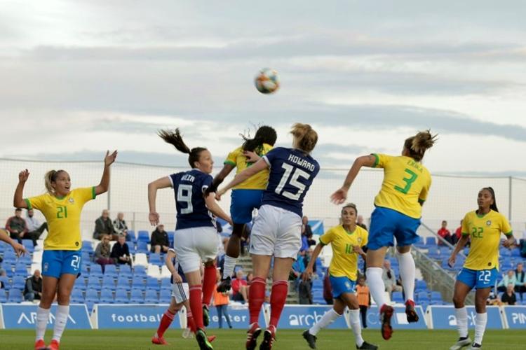 Brasil 0 x 1 Escócia, no último amistoso da Seleção Brasileira de Vadão antes da Copa do Mundo feminina na França