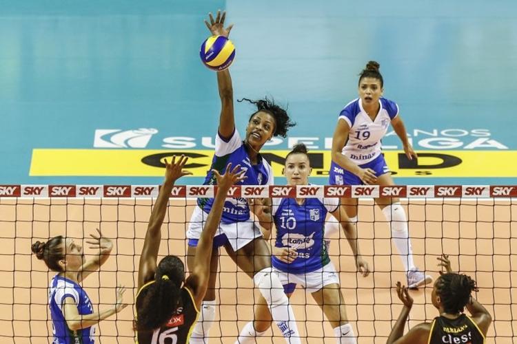Minas x Praia Clube na final que decide o campeão da Superliga Feminina de Volei 2018/2019