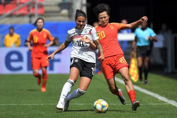 Dzsenifer Marozsan é uma das armas de ataque da Alemanha para a Copa do Mundo feminina da França