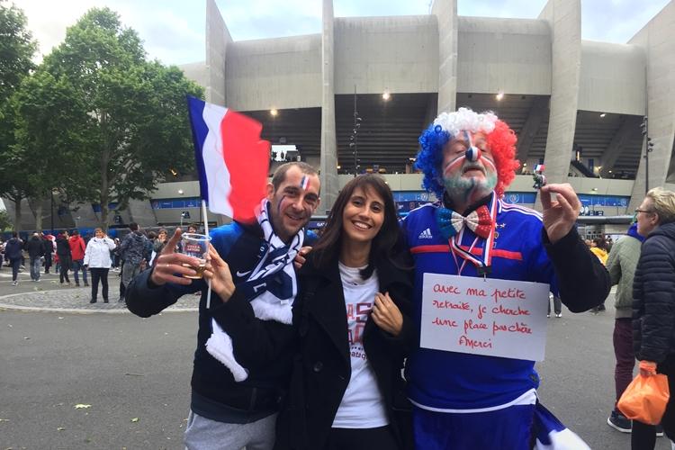 Paris-Parc des Princes-Copa do Mundo
