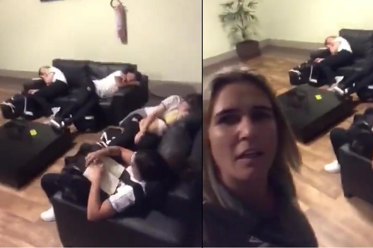 Emily Lima exibe jogadoras do Santos dormindo no saguão do hotel por falha na logística com a viagem do time para jogar em Manaus pelo Campeonato Brasileiro feminino