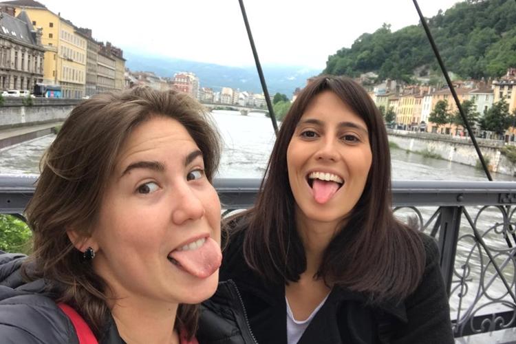 Elas no Ataque em Grenoble, cidade onde a Seleção Brasileira jogou na Copa do Mundo feminina da França