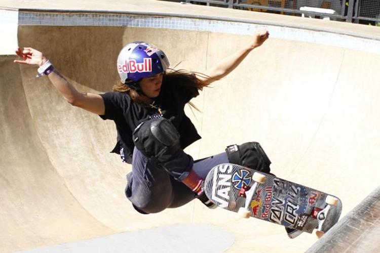 Em Brasília para disputar etapa do Campeonato Brasileiro de Skate, Yndiara Asp é uma das favoritas para representar o Brasil na estreia do skate nas Olimpíadas