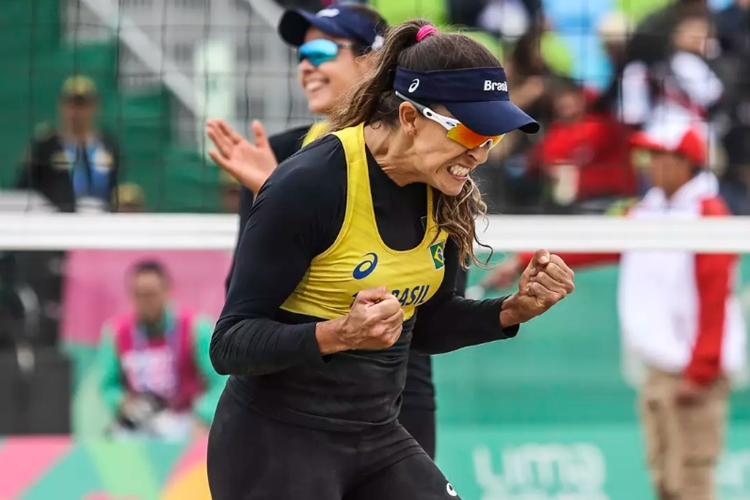 Ângela e Carol Horta conquistam bronze no pAn-Americano de Lima 2019