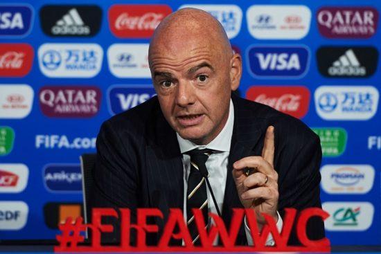 Gianni Infantino-presidente-Fifa-Copa do Mundo feminina