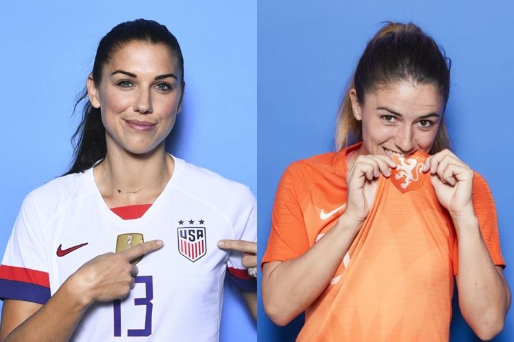 finalistas-Copa do Mundo feminina-Estados Unidos-Holanda