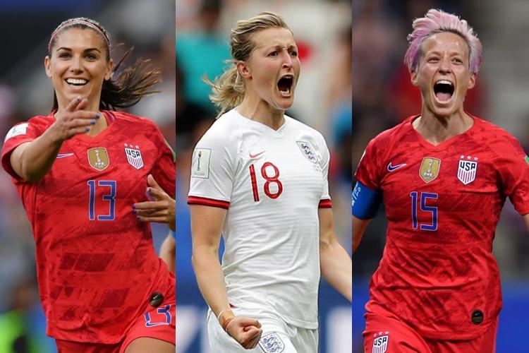 Estados Unidos-x-Inglaterra-Copa do Mundo feminina