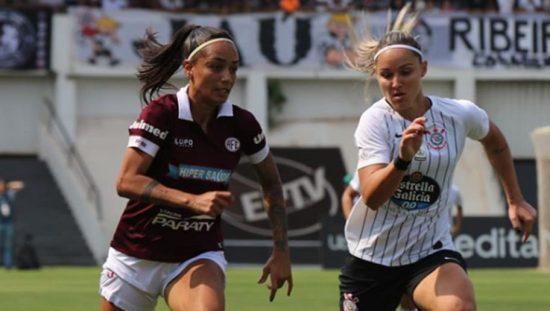 Final Brasileirão feminino Corinthians x Ferroviária