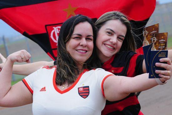 Mulheres-final-Flamengo-River Plate-Libertadores