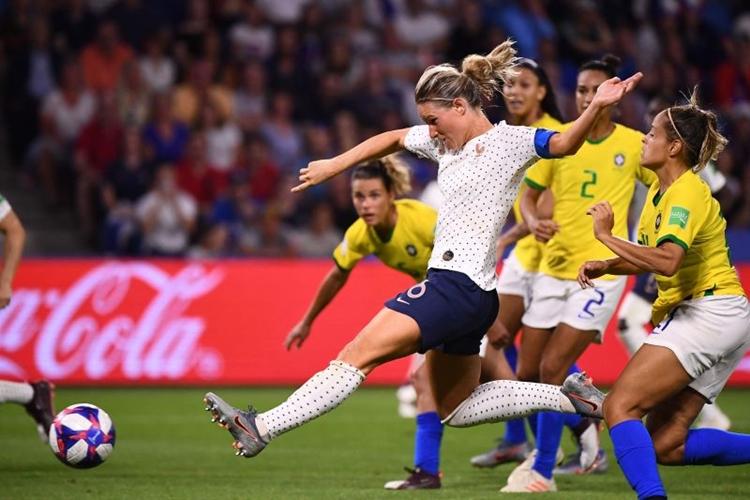 Amandine Henry jogadora da seleção da França de futebol feminino