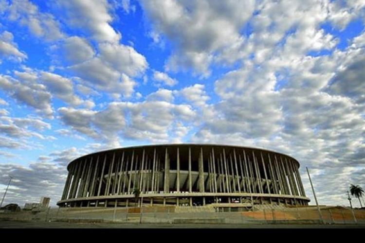 Estádio Mané Garrincha por ser palco da Copa do Mundo feminina da Fifa em 2023