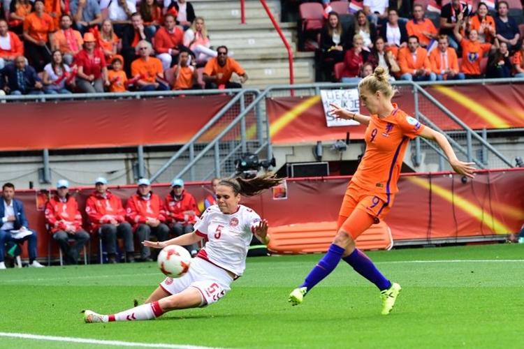 Vivianne Miedem é a camisa 9 da Holanda