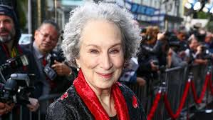 A autora canadense Margaret Atwood