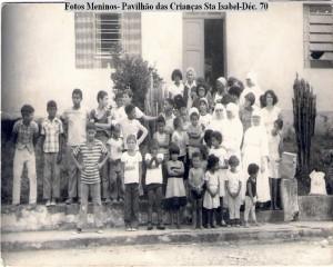 Pavilhão crianças dec 70 Colônia Santa Isabel ARQUIVO FAMÍLIA FLORES