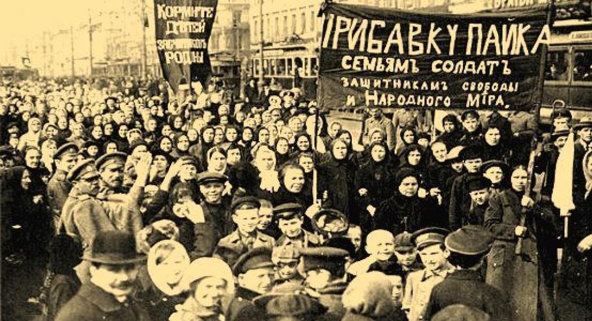 Credito: Reproducao. 100 anos da Revolucao Russa.