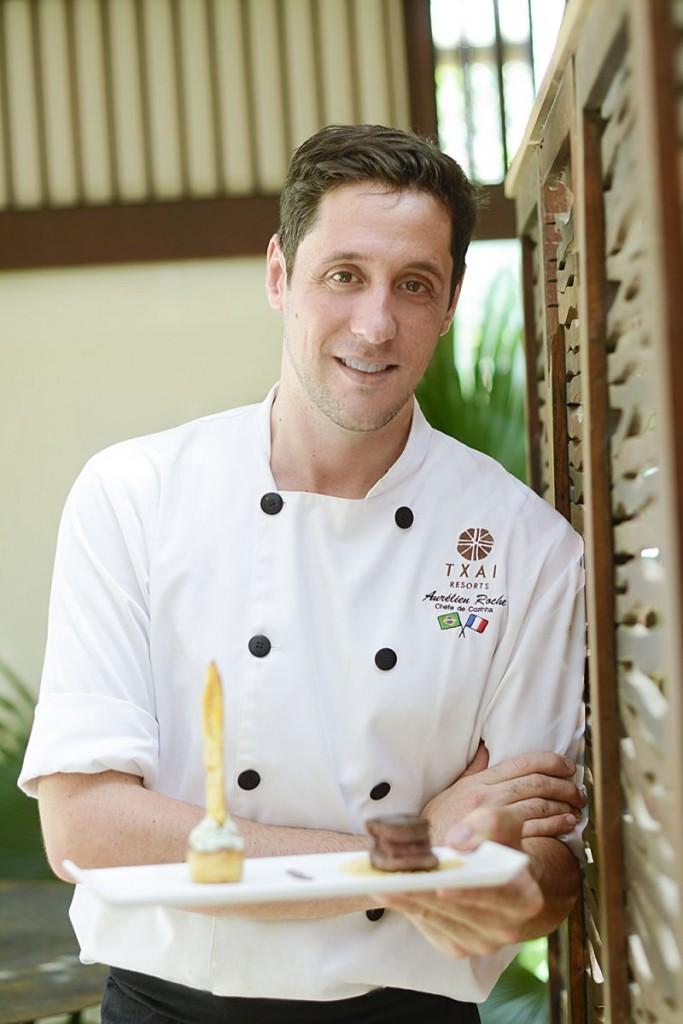 Crédito: In Press/Divulgação. Chef francês Aurélien Roche.