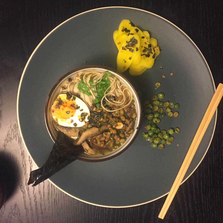 Créditos: NQ Assessoria/Divulgação. Prato sopa vegetariana no menu especial do Ancho.