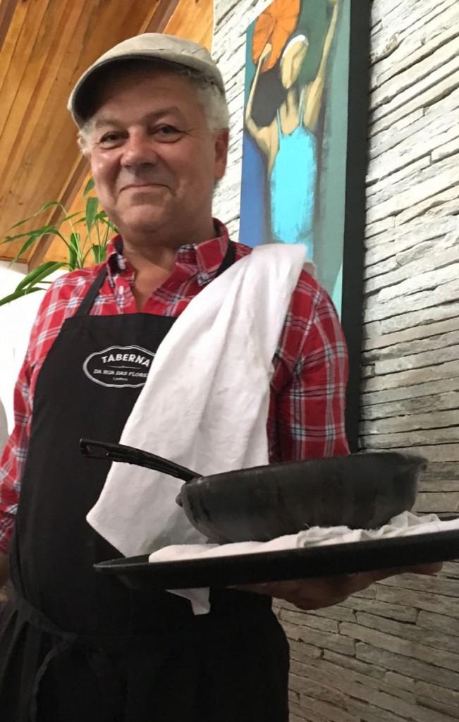 20/09/2016. Crédito: Liana Sabo/CB/D.A Press. Brasil. Chefe de cozinha português Andre Magalhães.