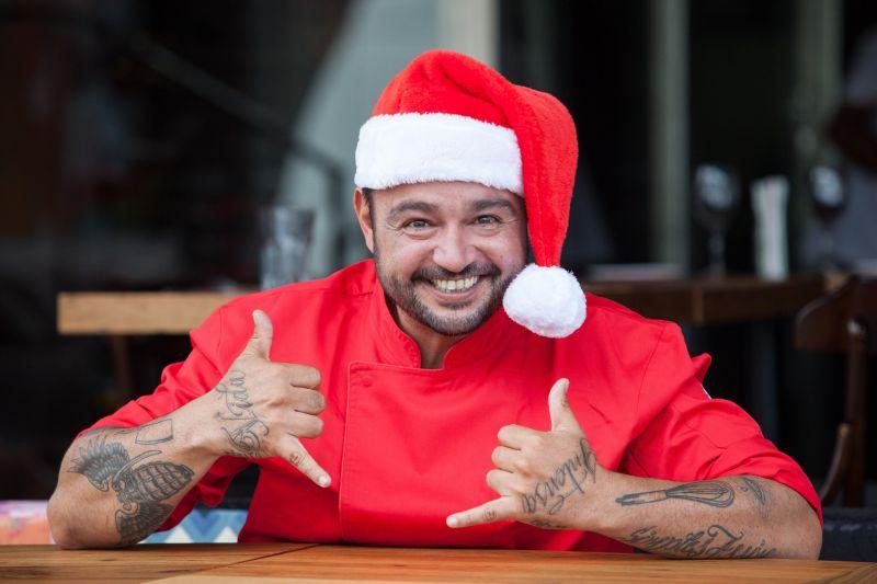 Crédito: Alan Santos/Divulgação. Chef Dudu Camargo.