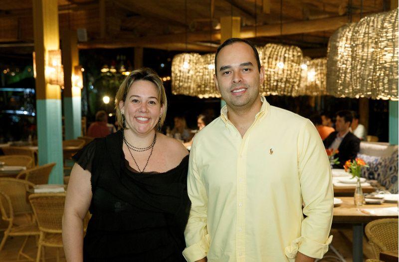 Crédito: Cristiano Sérgio/Divulgação. Chefs Andrea Munhoz e Christiann Silva, do restaurante Sallva.