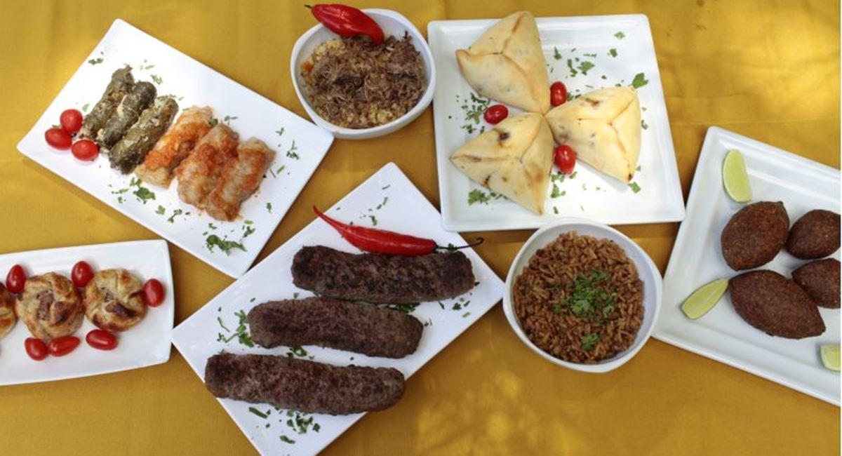 17/03/2017. Crédito: Ana Rayssa/Esp. CB/D.A. Press. Brasil. Brasília - DF. Favas Contadas.  Pratos do Restaurante Arabe Gourmet.