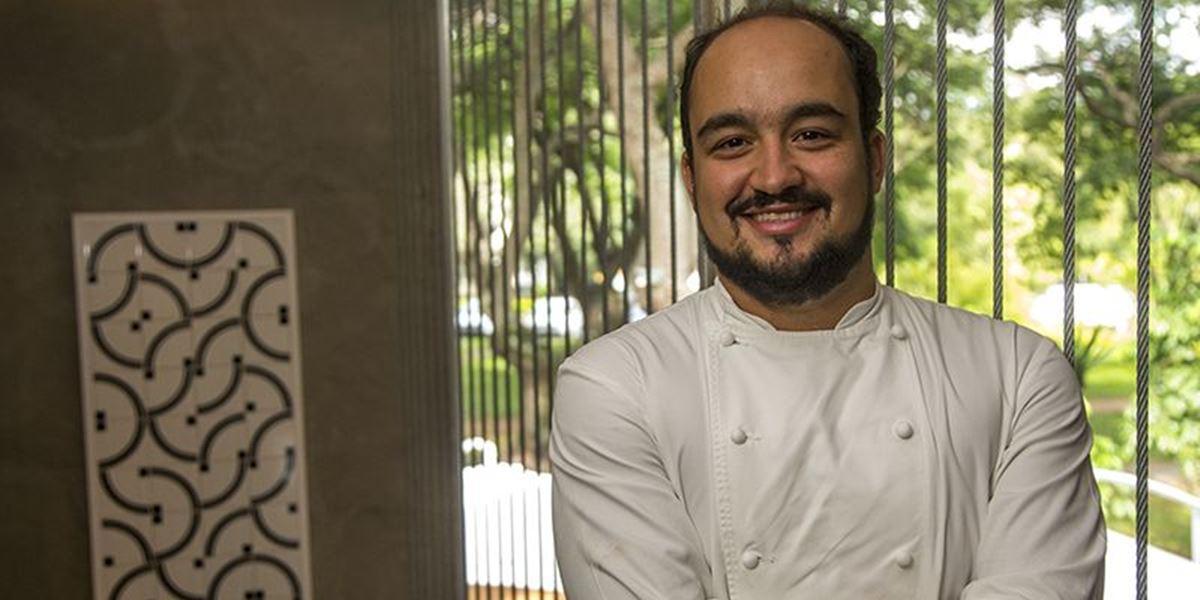 Créditos: Agenda KB/Divulgação. Chef Marcelo Petrarca, do restaurante Bloco C.