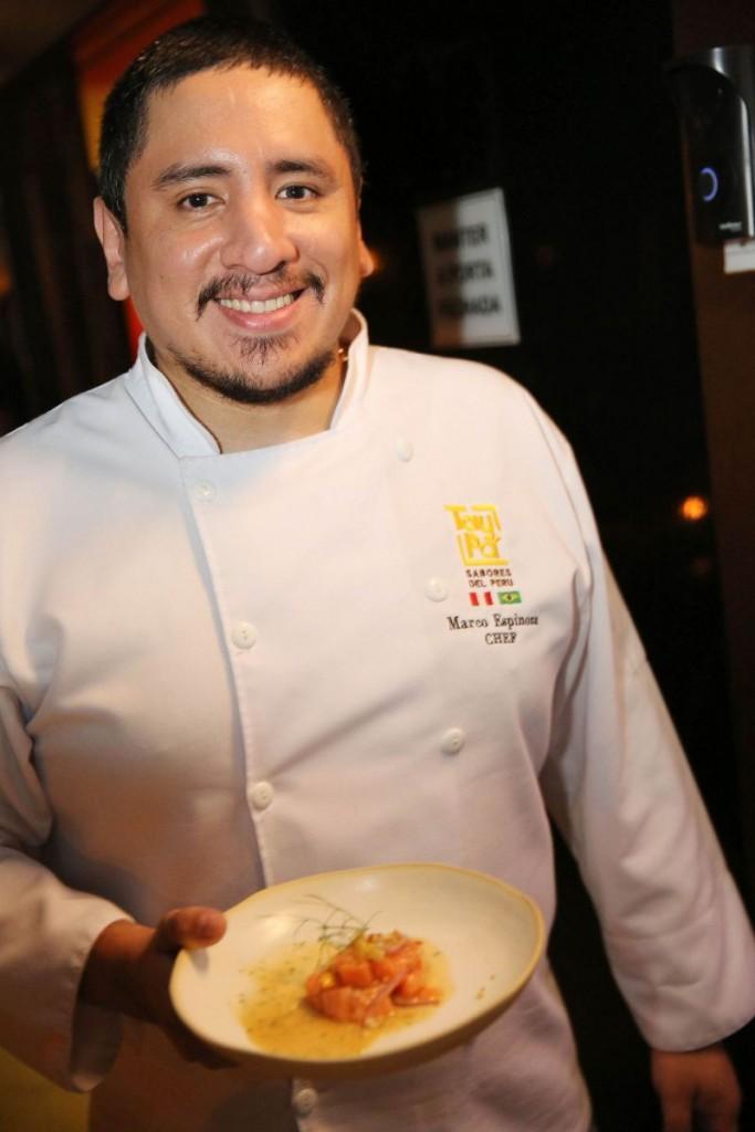 Chef Marco Espinoza.