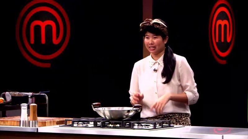 Créditos: Reprodução/Internet. Chef Yuko no MasterChef 2017.