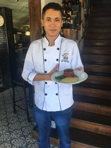 Crédito: Liana Sabo. Chef Francisco Leonardo