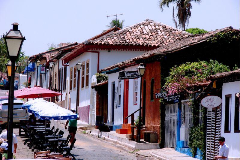 Crédito: Pousada Cachoeiras Araras Resort/Reprodução. Cidade de Pirenópolis.